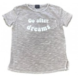 "CAMISETA ""GO AFTER DREAMS"" LIGHT -TOCOTO"