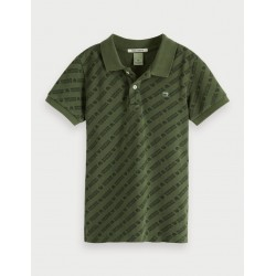POLO DE PIQUÉ -SCOTCH AND SODA