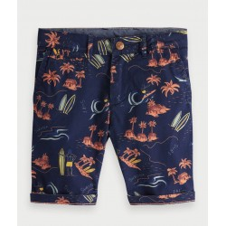 SHORT CON ESTAMPADO SURFERO-SCOTCH AND SODA